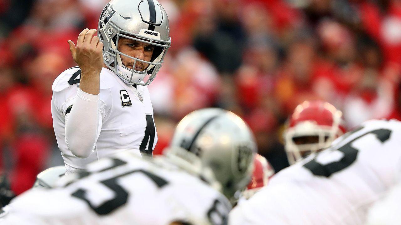 Platz 18: Oakland Raiders - Bildquelle: 2018 Getty Images