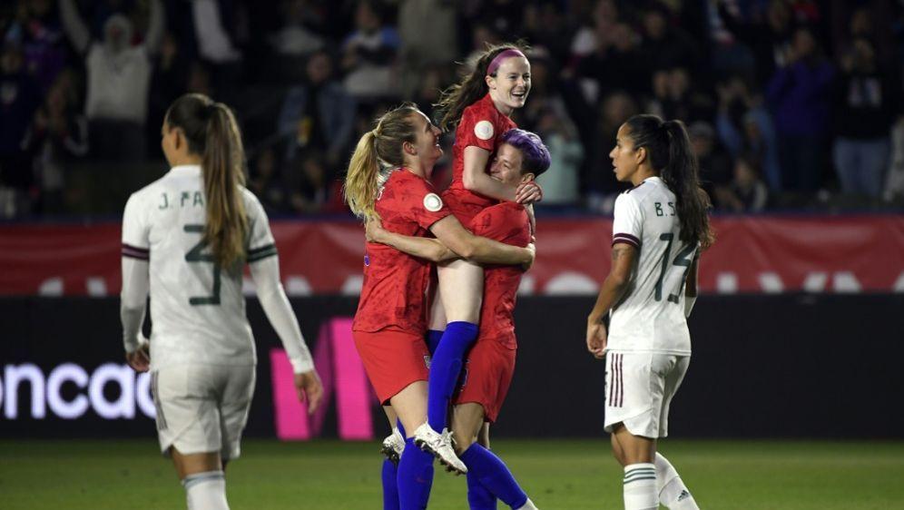 US-Fußballerinnen lösen das Olympia-Ticket - Bildquelle: AFPGETTY SIDKEVORK DJANSEZIAN