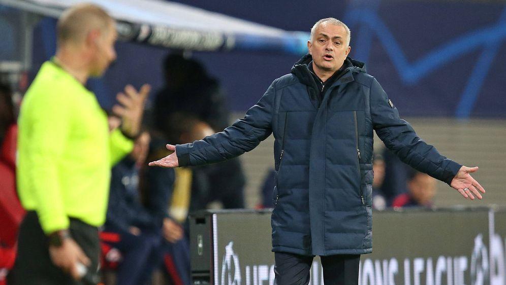 Spurs Trainer Jose Mourinho - Bildquelle: imago images