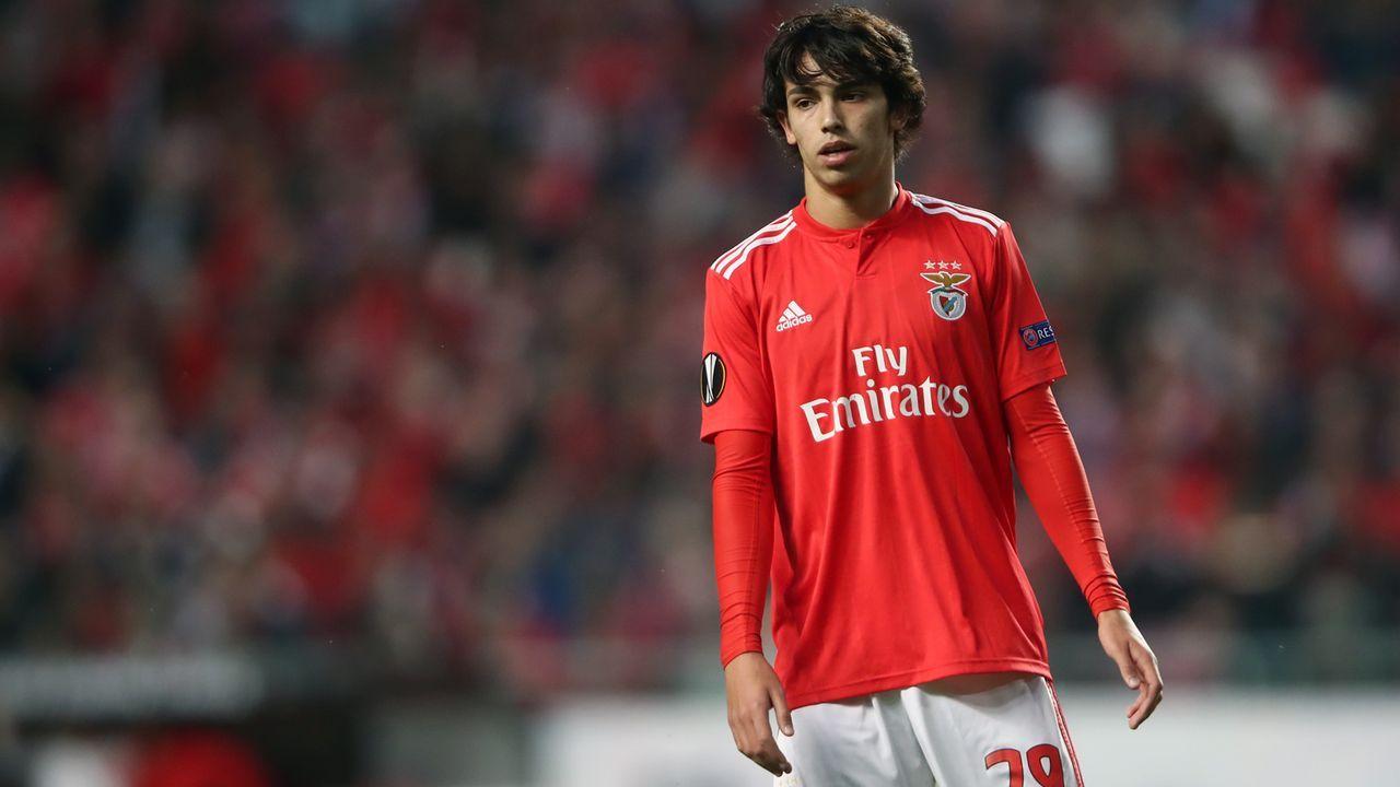 Platz 2 - Joao Felix (Atletico Madrid) - Bildquelle: 2019 Getty Images