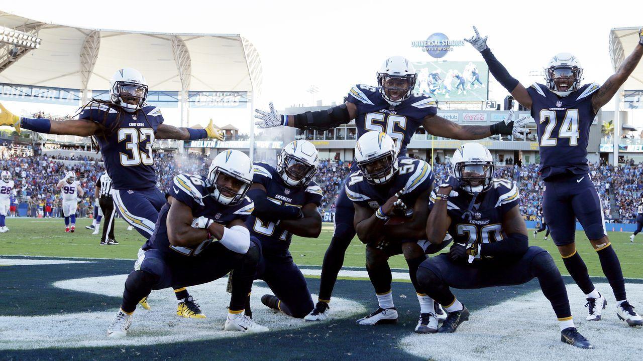 Platz 13: Los Angeles Chargers - Bildquelle: Getty Images