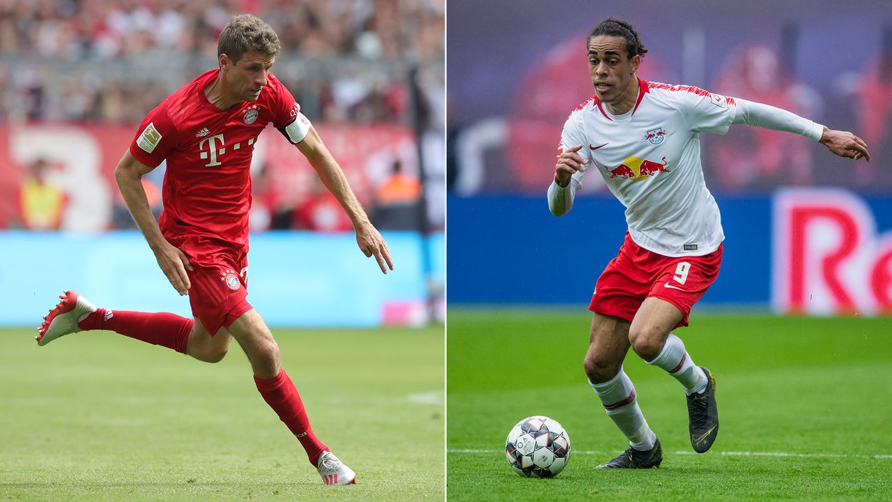 Thomas Müller vs. Yussuf Poulsen