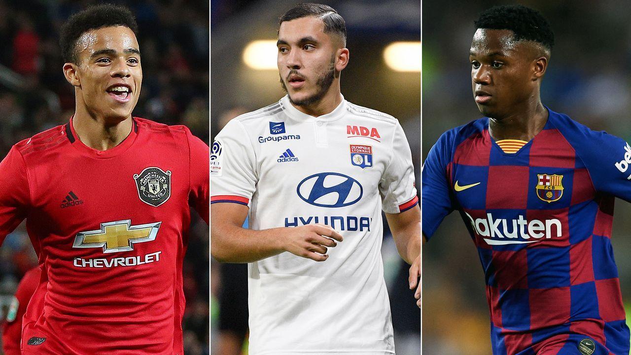 Top 10: Die jüngsten, eingesetzten Spieler in Europas besten Ligen 2019/20 - Bildquelle: Getty Images/Imago