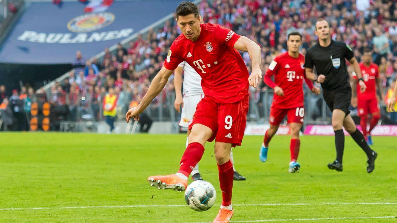 Historische Torserie: Lewandowski trifft im neunten Spiel in Folge - Bildquelle: Imago