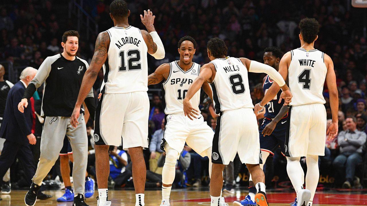 Platz 8: San Antonio Spurs - Bildquelle: imago