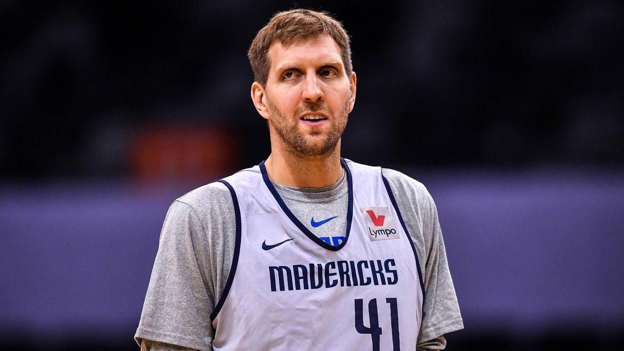 Platz 5: Dirk Nowitzki (Dallas Mavericks/Basketball) - Bildquelle: imago