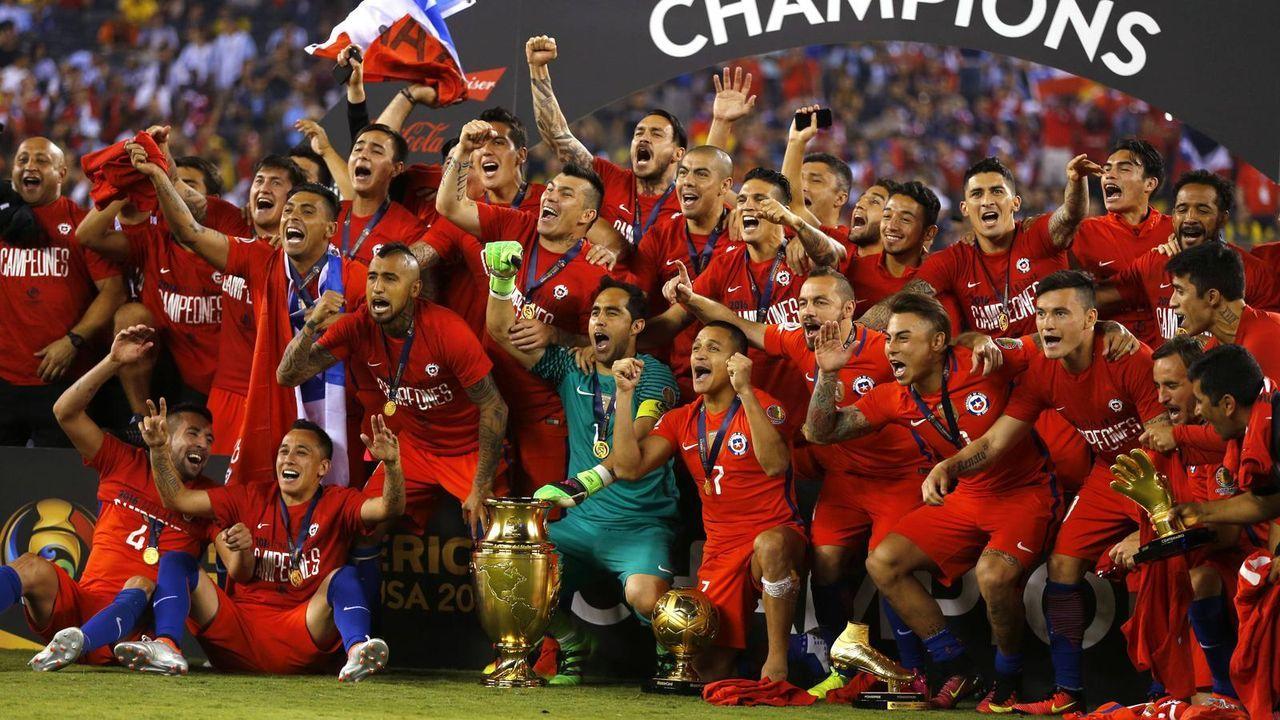 Platz 8: Chile (zwei Final-Teilnahmen) - Bildquelle: imago
