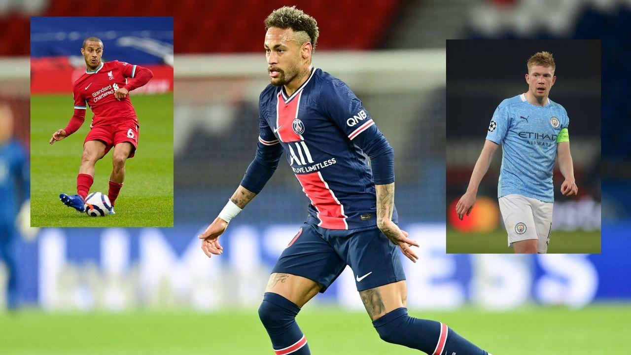 Neymar: Diese fünf Spieler sind technisch besser als ich - Bildquelle: Getty/Imago