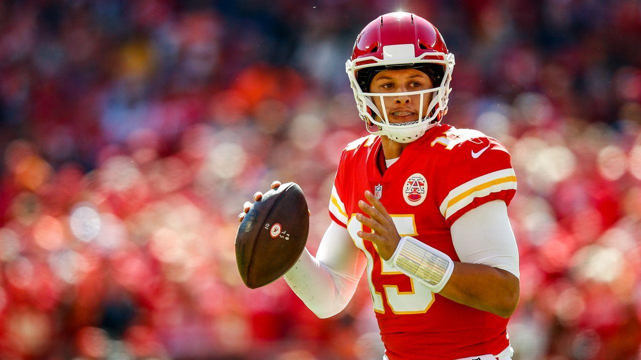 Patrick Mahomes (Kansas City Chiefs, Quarterback) - Bildquelle: 2018 Getty Images