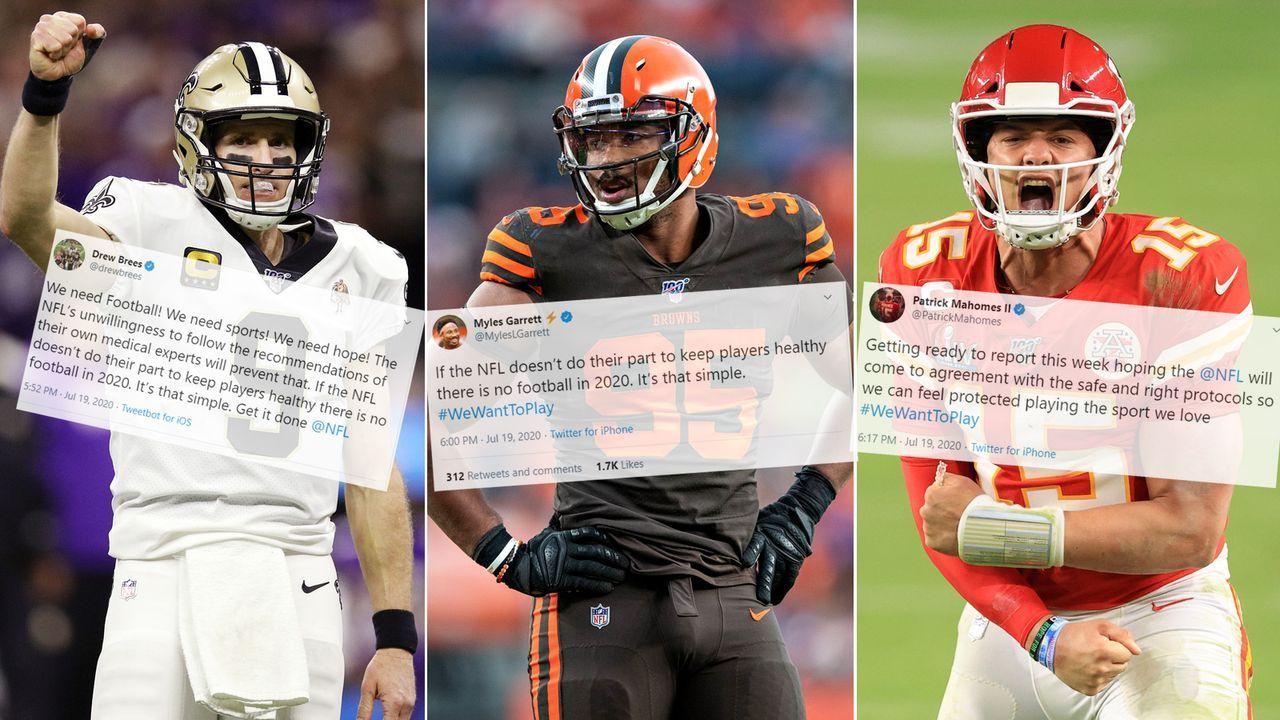 Streit um NFL-Restart eskaliert - Superstars drohen mit Streik
