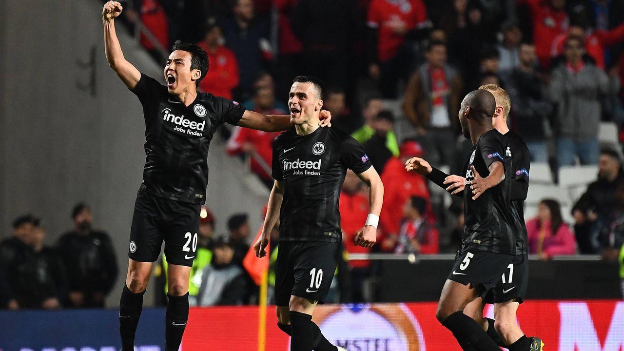 Europa League: Sieben Gründe, warum Eintracht das Halbfinale erreicht - Bildquelle: imago images / Jan Huebner