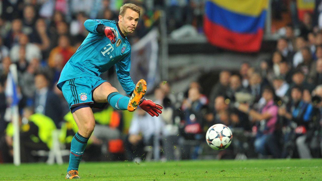 Platz 3: Manuel Neuer (FC Bayern München) - Bildquelle: Imago Images