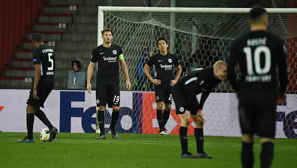 Die Eintracht verliert in Belgien. - Bildquelle: imago