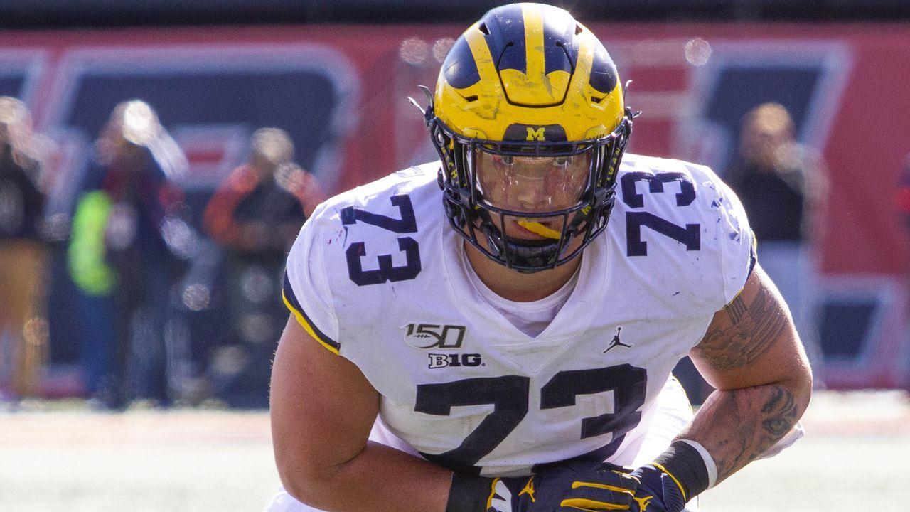 Jalen Mayfield (Offensive Tackle, Michigan) - Bildquelle: imago images/ZUMA Press