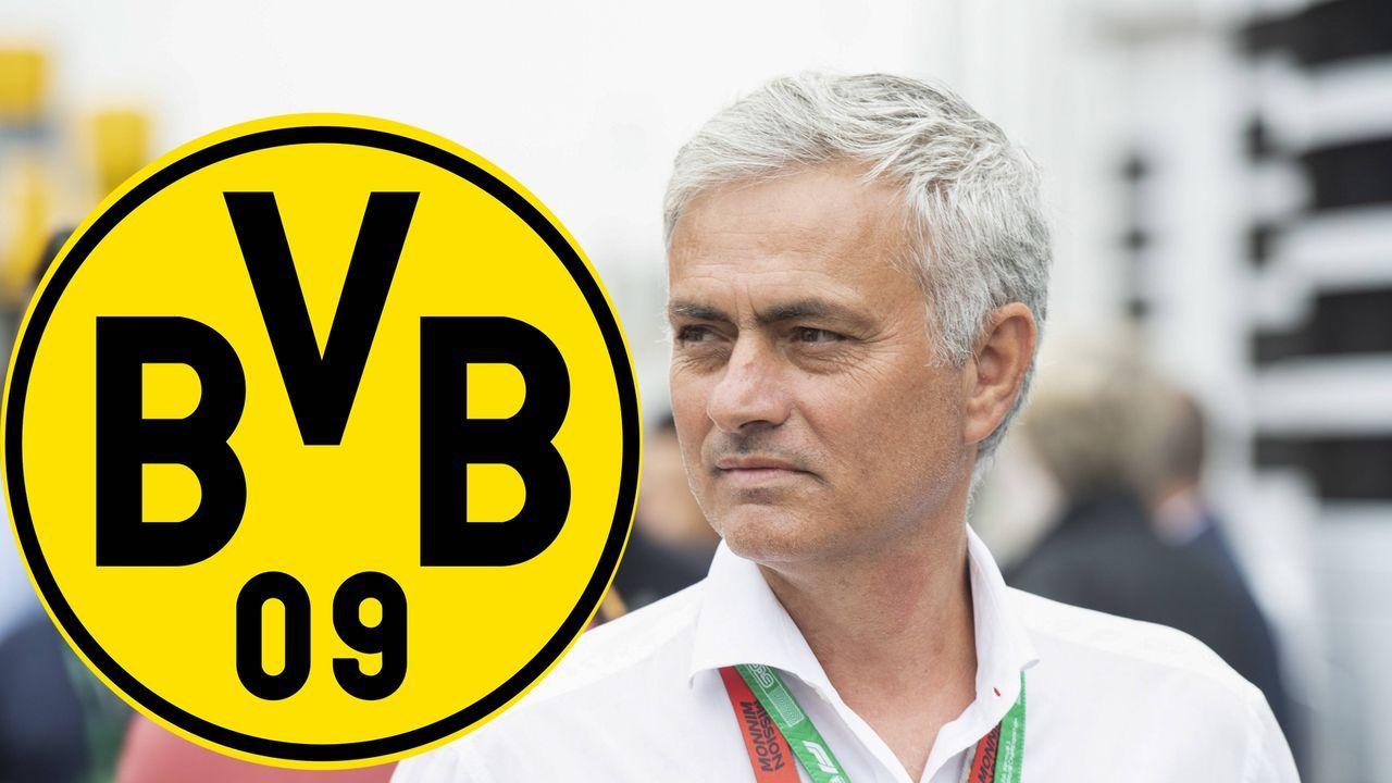 Jose Mourinho (vereinslos) - Bildquelle: imago images / Motorsport Images