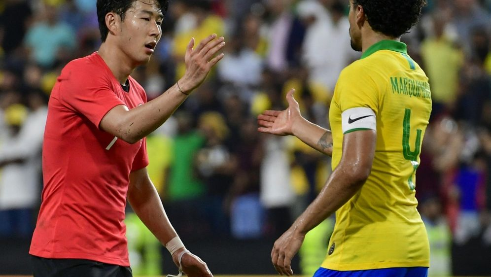 Heung-Min Son führt Südkorea als Kapitän an - Bildquelle: AFPSIDGIUSEPPE CACACE