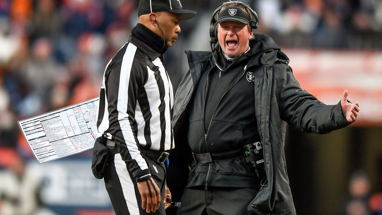 18. Platz: Las Vegas Raiders - Bildquelle: 2019 Getty Images