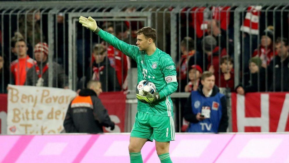 Manuel Neuer ist fit - Bildquelle: FIROFIROSID