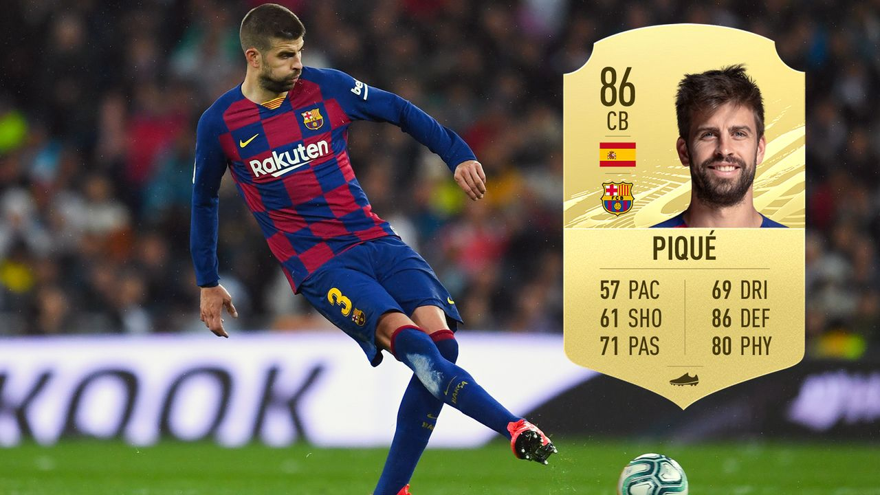 Gerard Pique (FC Barcelona/Spanien) - Bildquelle: 2020 Getty Images/EA Sports