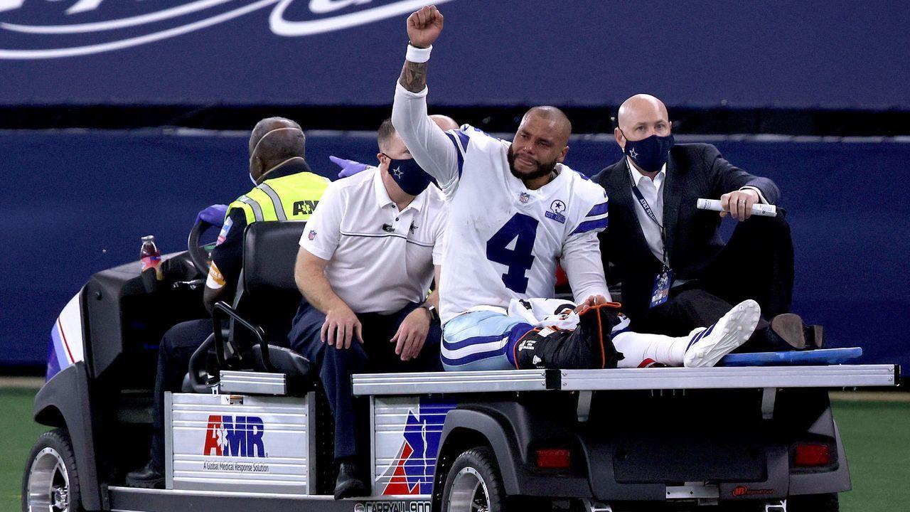 Gute Leistungen: Dak Prescott (Dallas Cowboys) - Bildquelle: 2020 Getty Images
