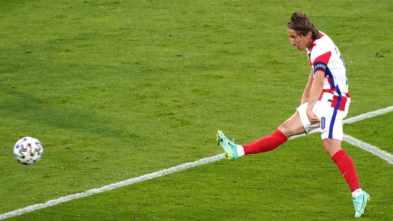Modric's Traumtor bricht schottische Herzen - Bildquelle: Imago