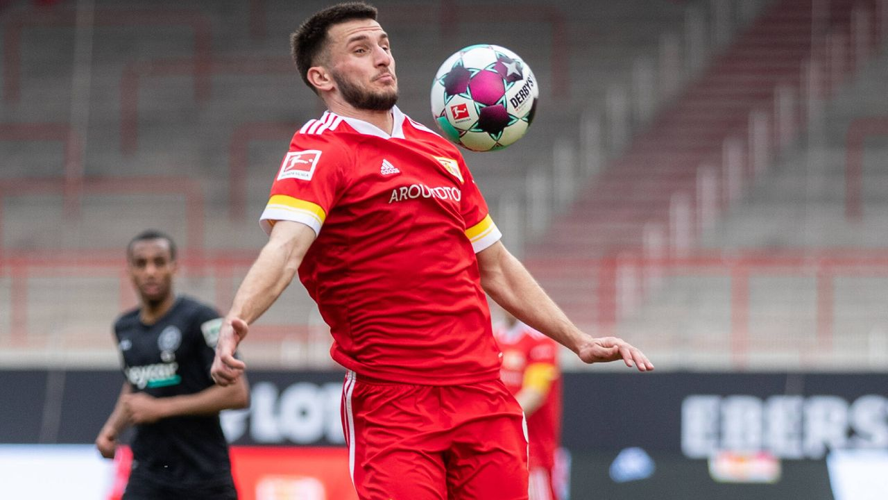 Leon Dajaku (1. FC Union Berlin) - Bildquelle: Imago