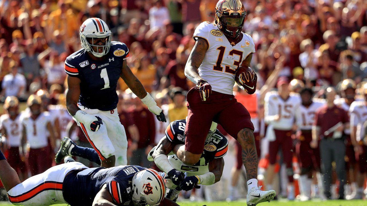 21. Pick: Indianapolis Colts - Rashod Bateman, WR - Bildquelle: 2020 Getty Images