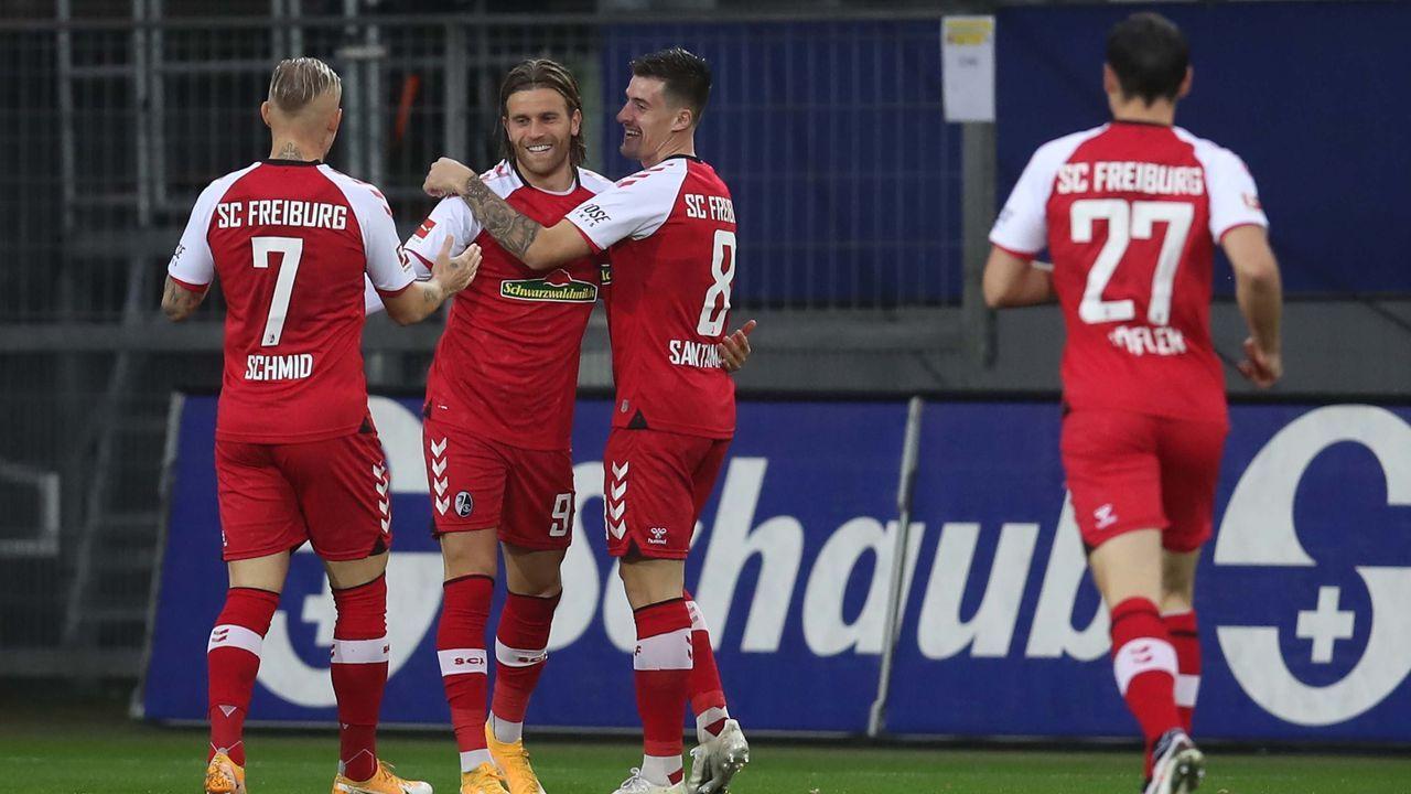 Platz 17: SC Freiburg - Durchschnittlicher Tabellenplatz der Gegner: 13,2 - Bildquelle: getty