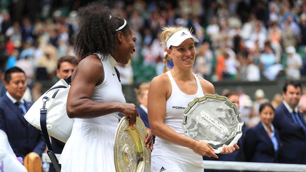 Bereits im Wimbledon-Finale von 2016 trafen Angelique Kerber (re.) und Seren... - Bildquelle: 2016 Getty Images