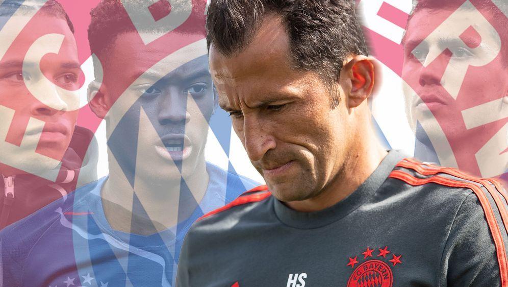 FCB-Sportdirektor Hasan Salihamidzic ist nicht zu beneiden. - Bildquelle: 2019 Getty Images / imago