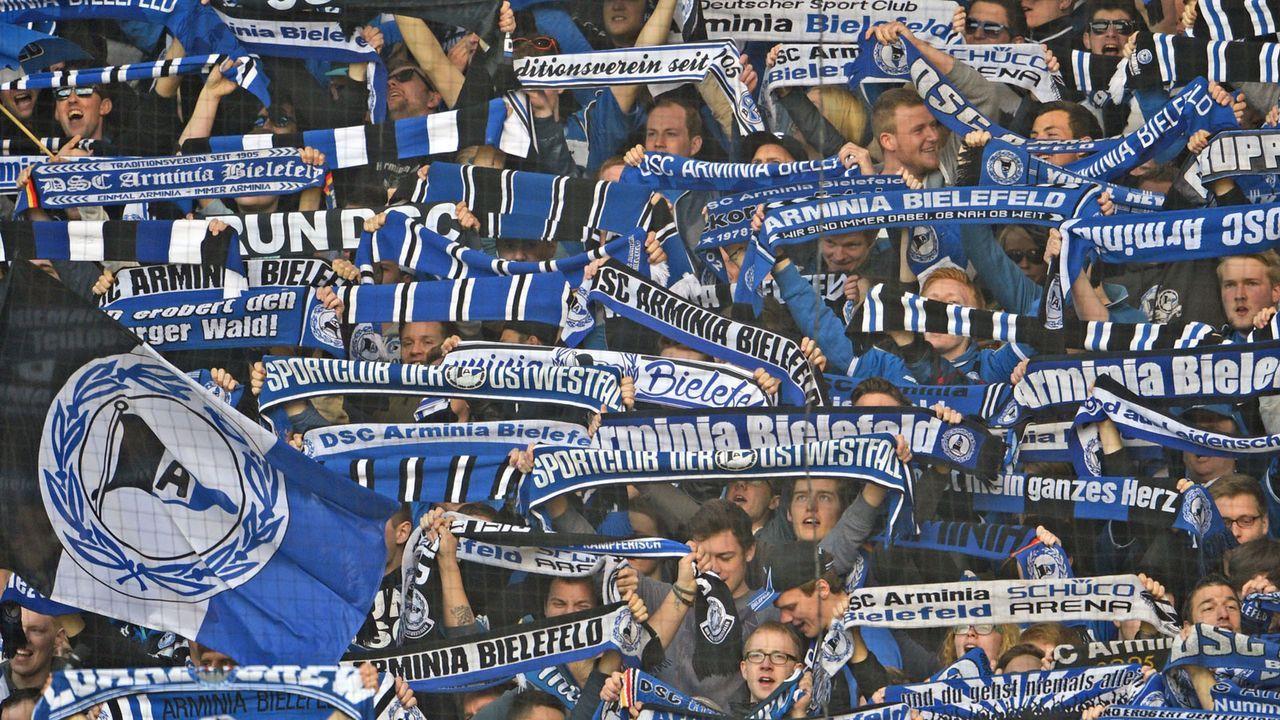 Arminia Bielefeld - Bildquelle: 2015 Getty Images