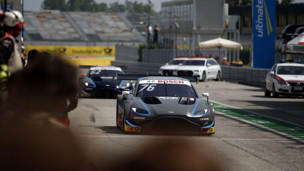 Aston Martin holt einen von zwei noch offenen Testtagen in Vallelunga nach - Bildquelle: LAT