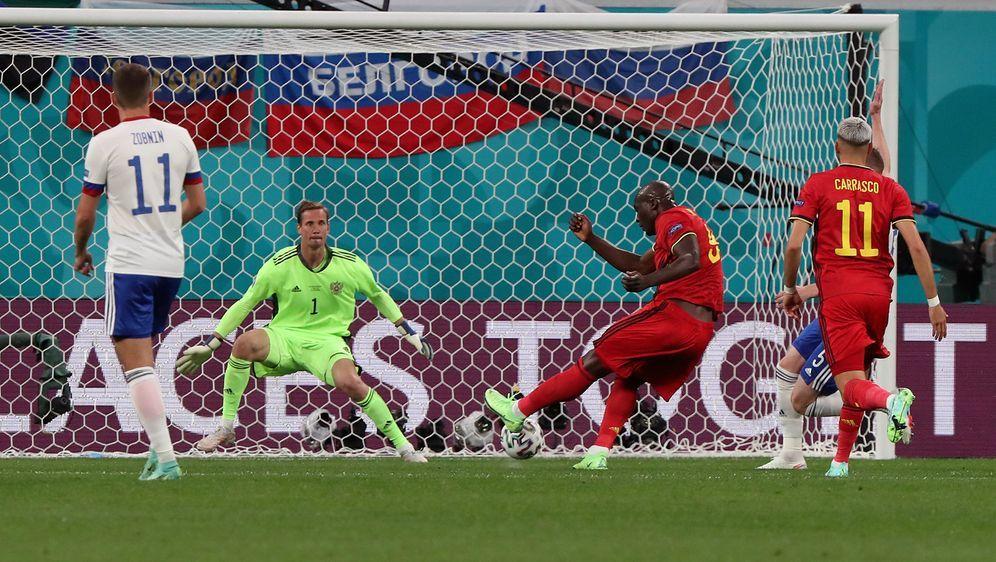 Romelu Lukaku schießt Belgien zum Auftaktsieg - Bildquelle: Getty Images