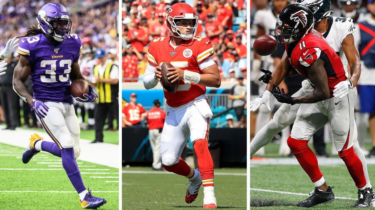 NFL Fantasy Manager: Das Top-Team aus Woche 2 - Bildquelle: Getty