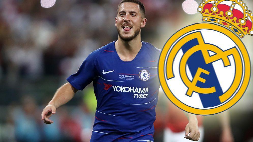 Der Wechsel von Eden Hazard zu Real Madrid ist perfekt - Bildquelle: Getty