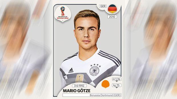 Mario Götze (Borussia Dortmund) - Bildquelle: Panini