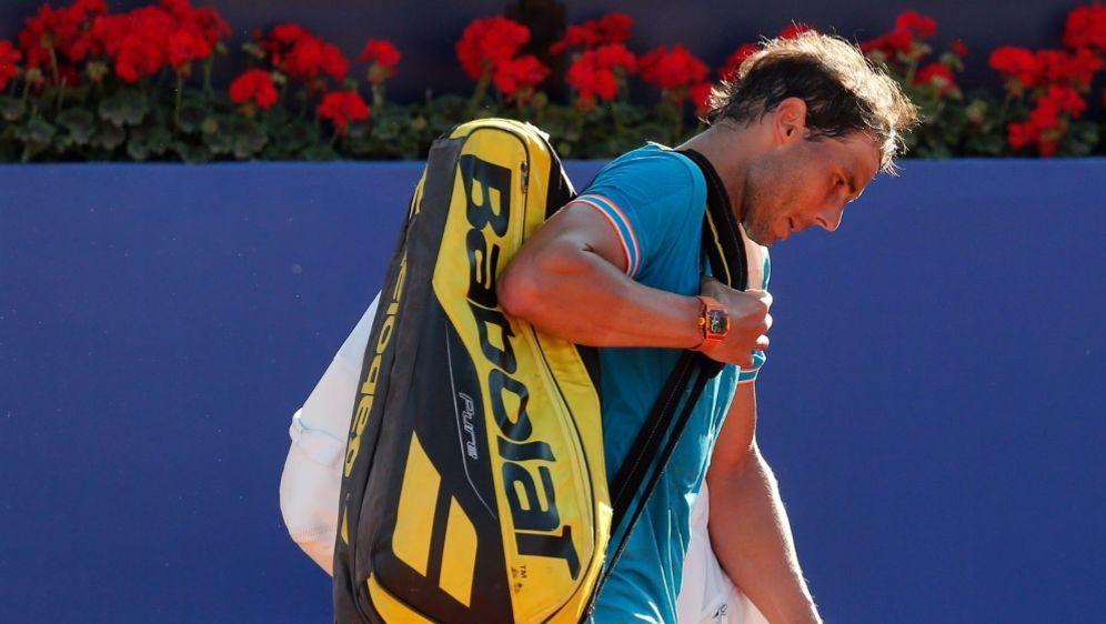 Rafael Nadal hatte mit einem Virus zu kämpfen - Bildquelle: AFPSIDPAU BARRENA