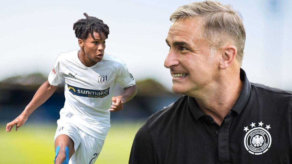 Felix Agu lobt die offene Art von U21-Trainer Stefan Kuntz. - Bildquelle: imago