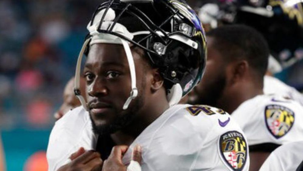 Christopher Ezeala möchte bei den Baltimore Ravens ein fester Bestandteil de... - Bildquelle: Christopher Ezeala