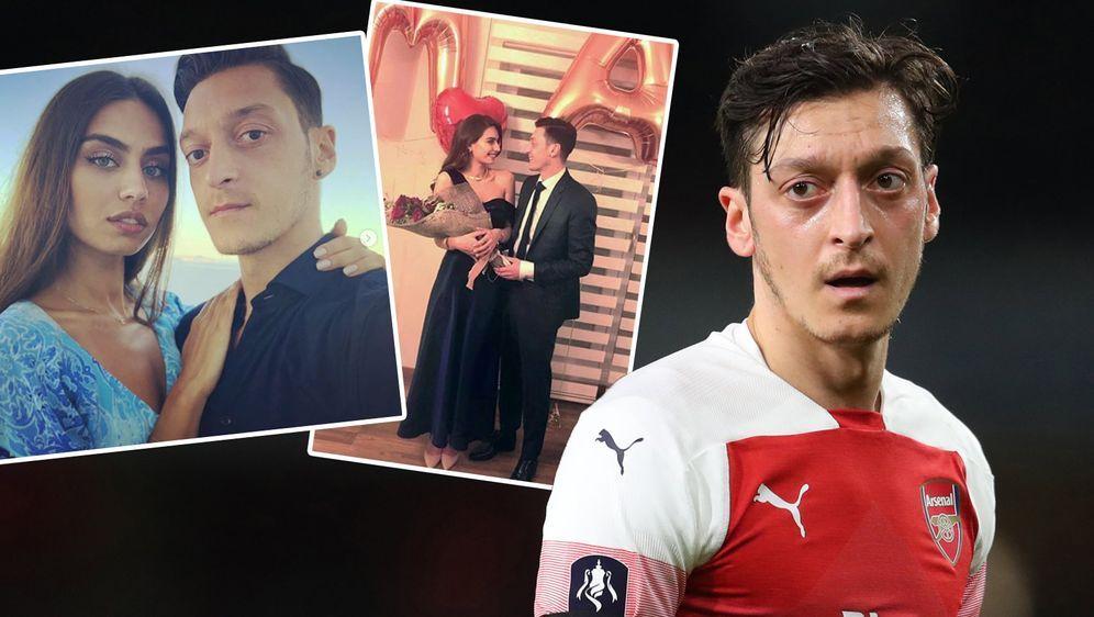 Mesut Özil und seine Freundin Amine Gülse sind seit 2017 ein Paar - jetzt st... - Bildquelle: Getty / instagram.com/gulseamine
