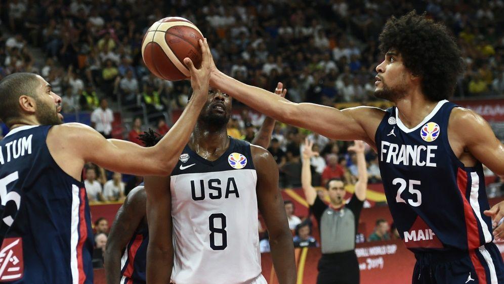 USA zeigte eine enttäuschende Leistung gegen Frankreich - Bildquelle: AFPSIDYE AUNG THU