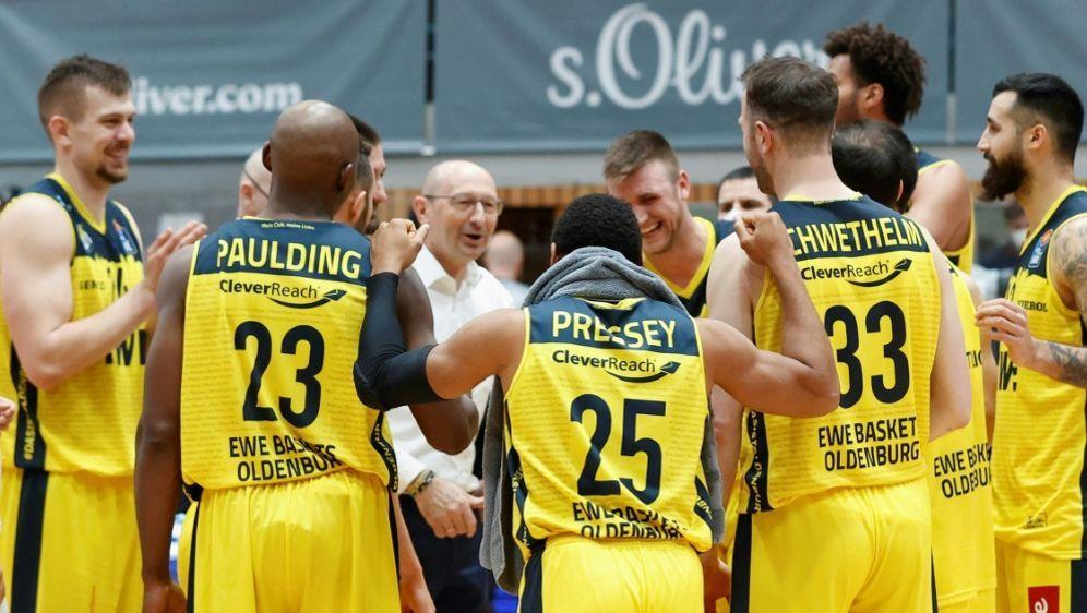Mit dem Sieg sichert sich Oldenburg den dritten Platz - Bildquelle: FIROHeiko BeckerFIROHeiko BeckerSIDHeiko Becker