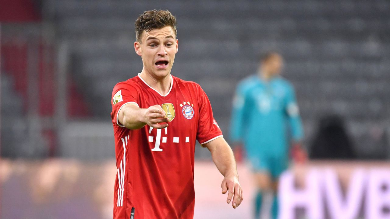 Platz 4: Joshua Kimmich (FC Bayern München) - Bildquelle: imago images/Sven Simon