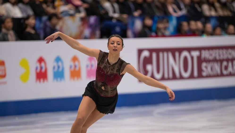 Nicole Schott wurde für den Cup of Russia nachnomminiert - Bildquelle: AFPSIDNICOLAS DATICHE