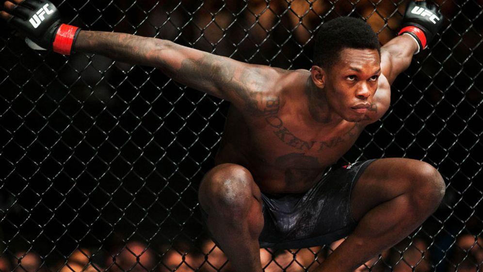 Israel Adesanya ist erst seit Ende 2017 UFC-Fighter - Bildquelle: imago