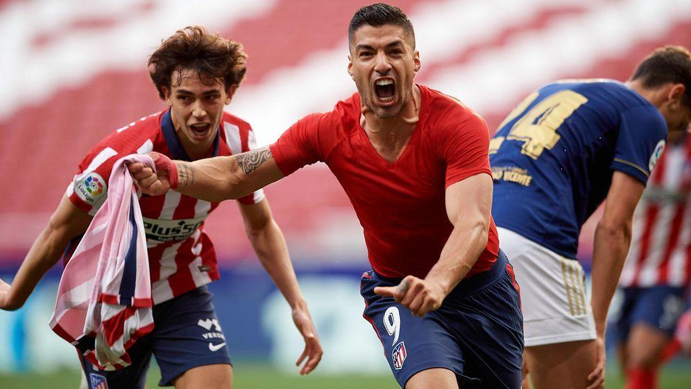 Atletico steht kurz vor der elften Meisterschaft - Bildquelle: Imago