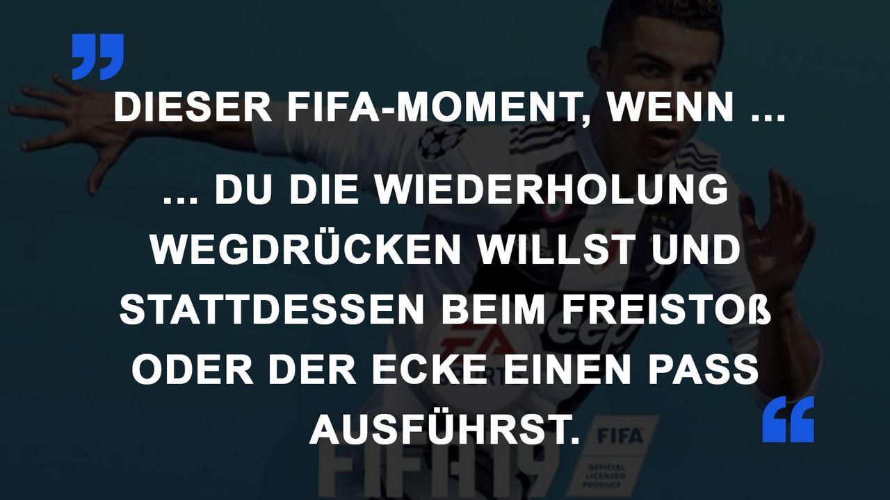 FIFA Momente Wiederholung