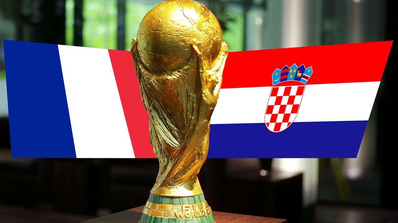 Frankreich gegen Kroatien - Die Statistiken zum WM-Finale - Bildquelle: 2009 Getty Images