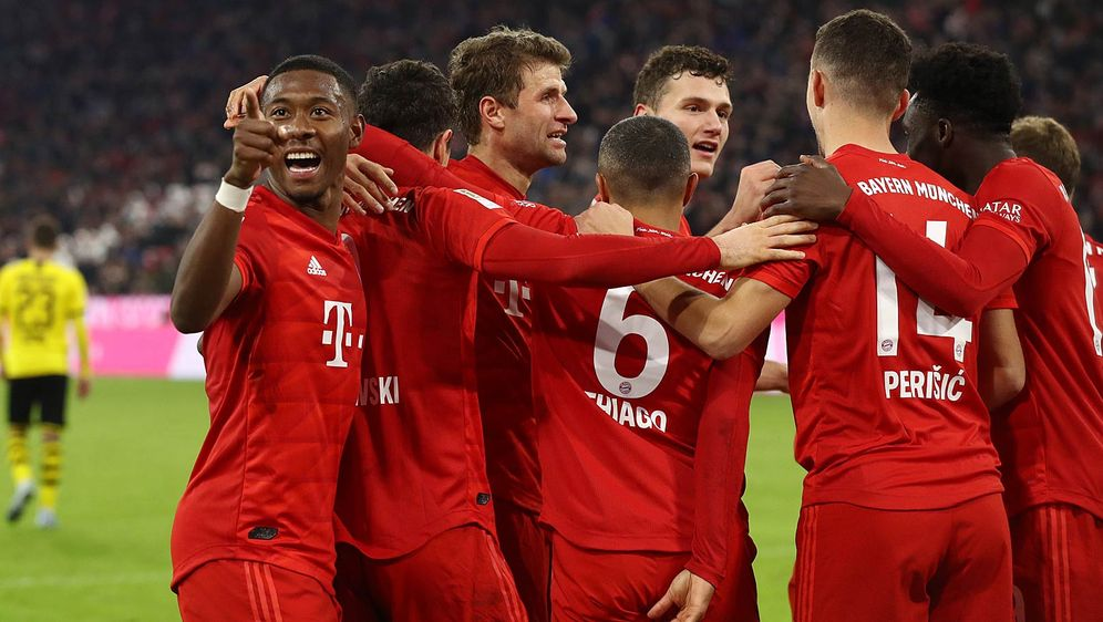Der FC Bayern München gewann auch das zweite Spiel unter Trainer Hansi Flick... - Bildquelle: getty