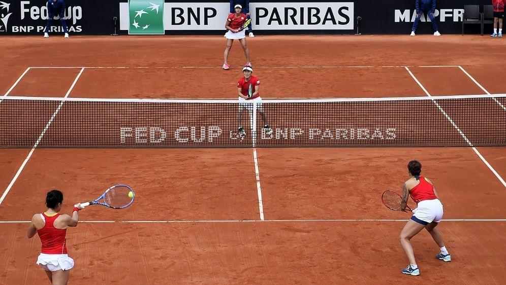 "Der Fed Cup heißt nun ""Billie Jean King Cup"" - Bildquelle: AFPSIDJOSE JORDAN"